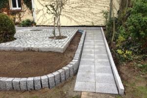 Gehwegplatten Granitpflaster