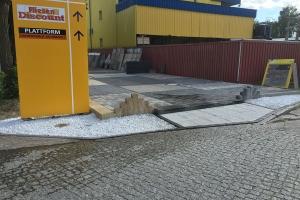 Kluwe Pflaster Gehwegplatten