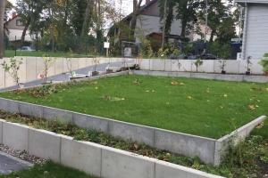 Projekt Berlin Kladow Hang Rasen Bepflanzung