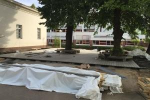 Projekt Schulhof Terrassendiehlen