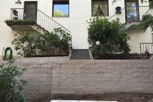 Projekt Vorgarten Frohnau Mauer